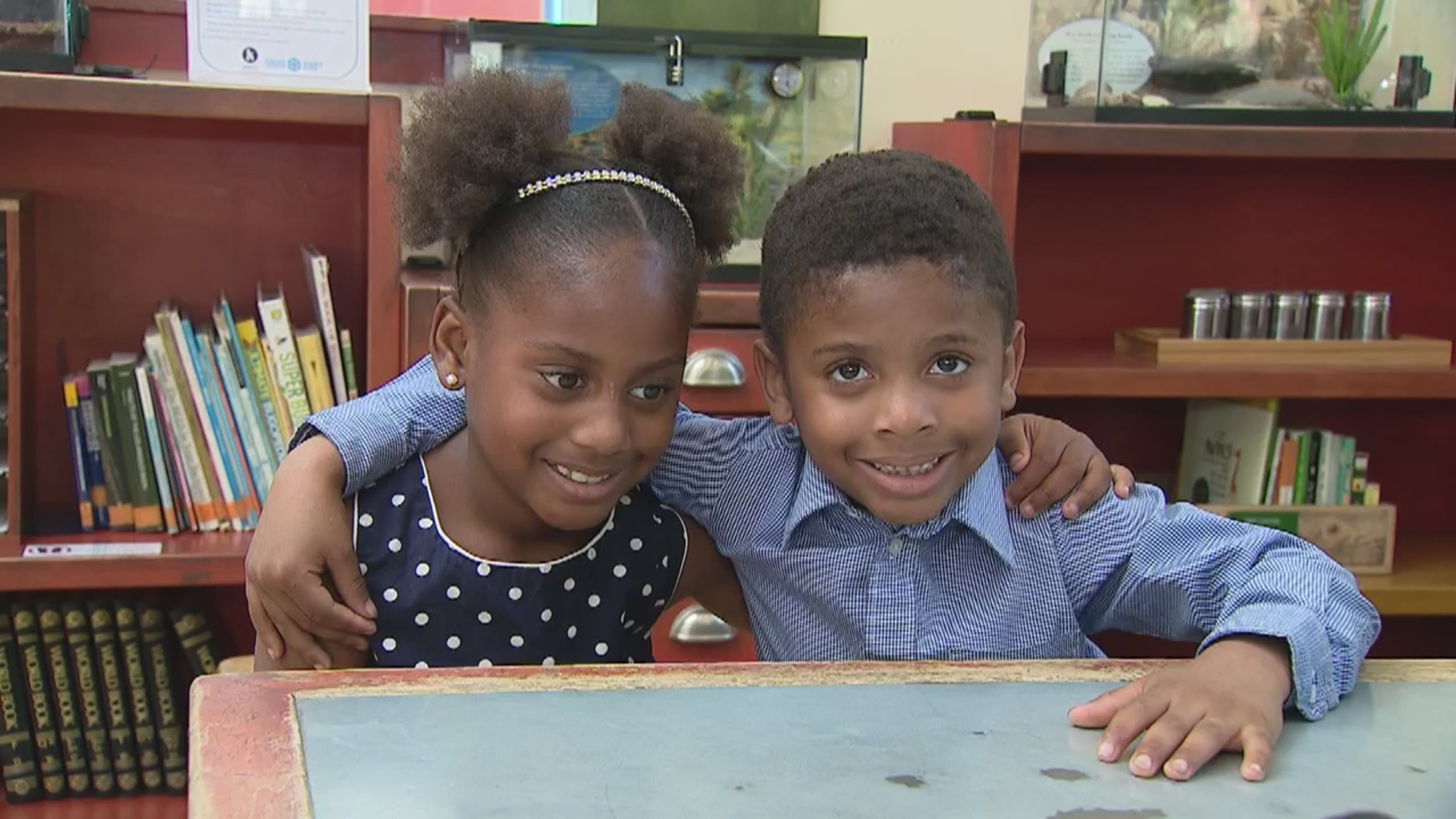 Wednesday's Child: Fun-loving siblings Harmony and Chanz in search of a forever home