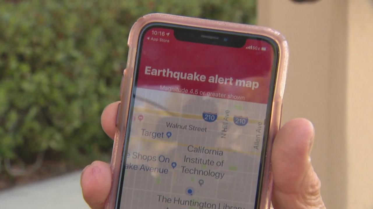 L.A.'s ShakeAlert app lower standards for quakes