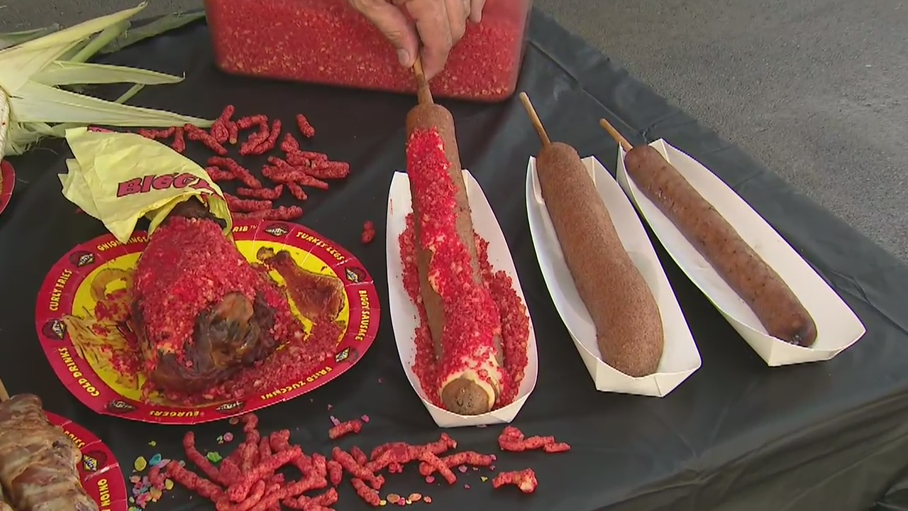 From hot Cheeto corn dogs to bacon wrapped pork belly, all the food and fun happening at the L.A. County Fair
