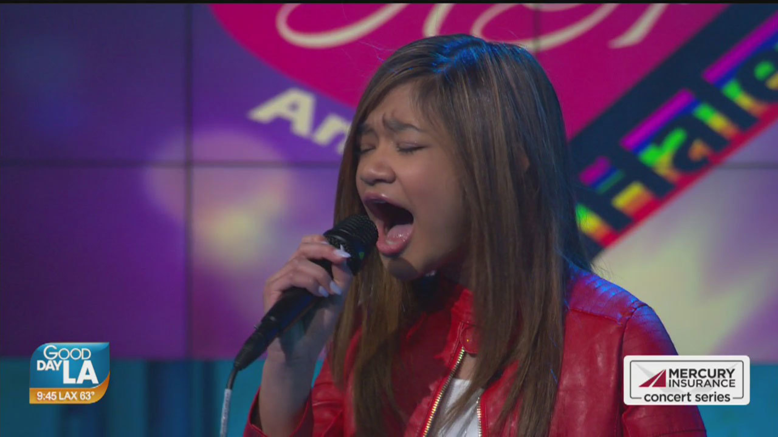 Angelica Hale performs live on Good Day LA + backstage interview