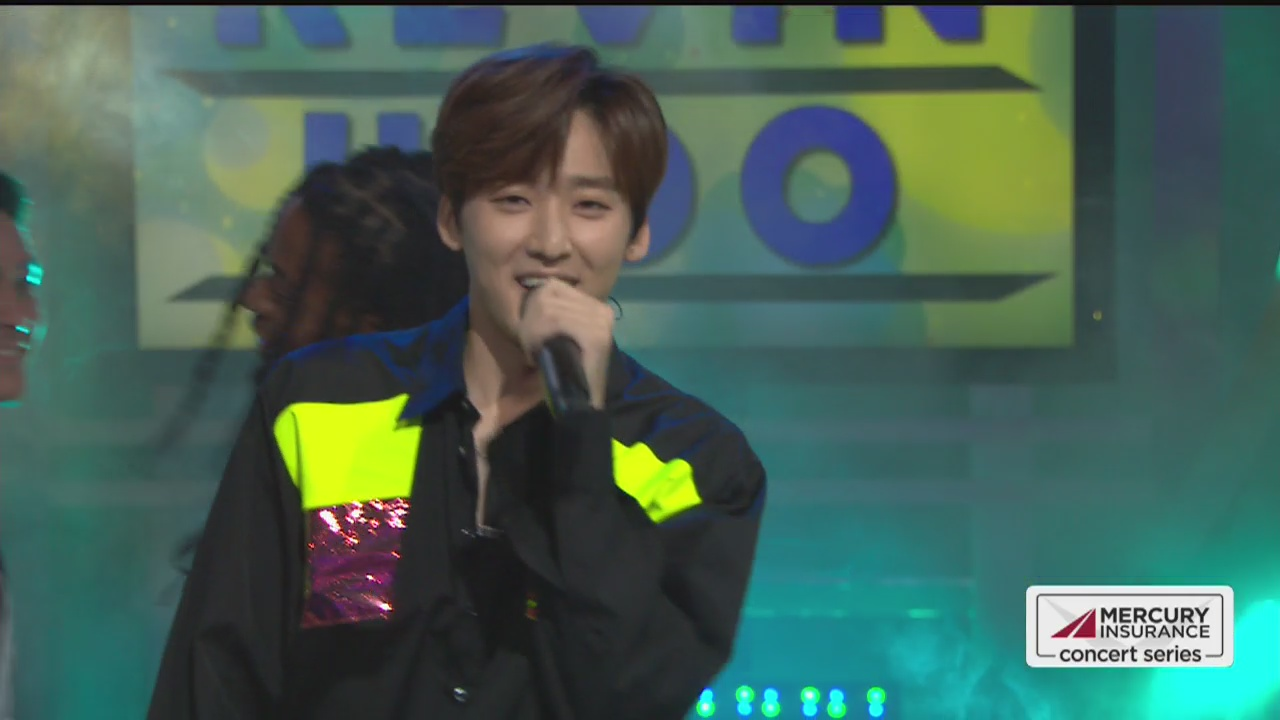 Kevin Woo performs live on Good Day LA + backstage interview