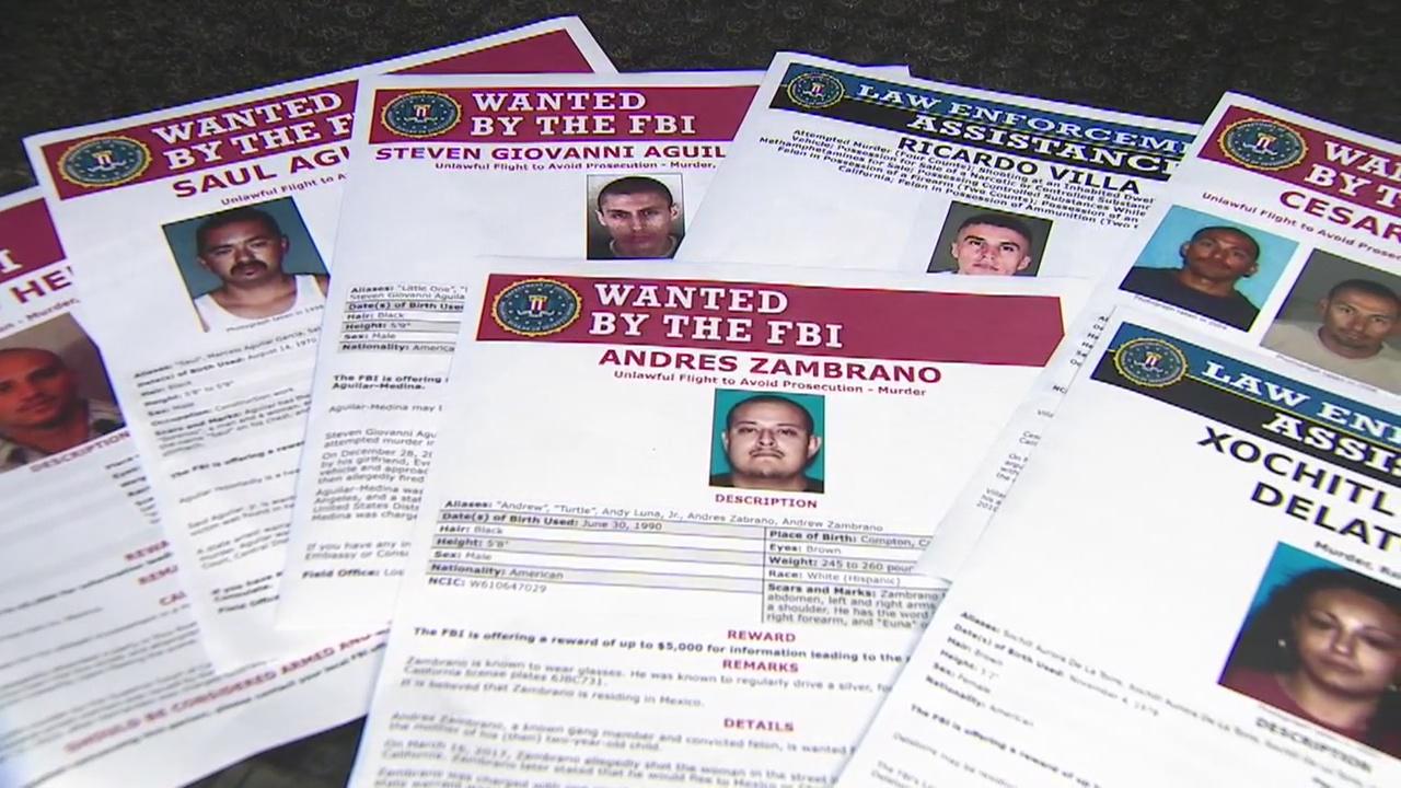 FBI intensifies search for 12 violent criminals | FOX 11 Los Angeles