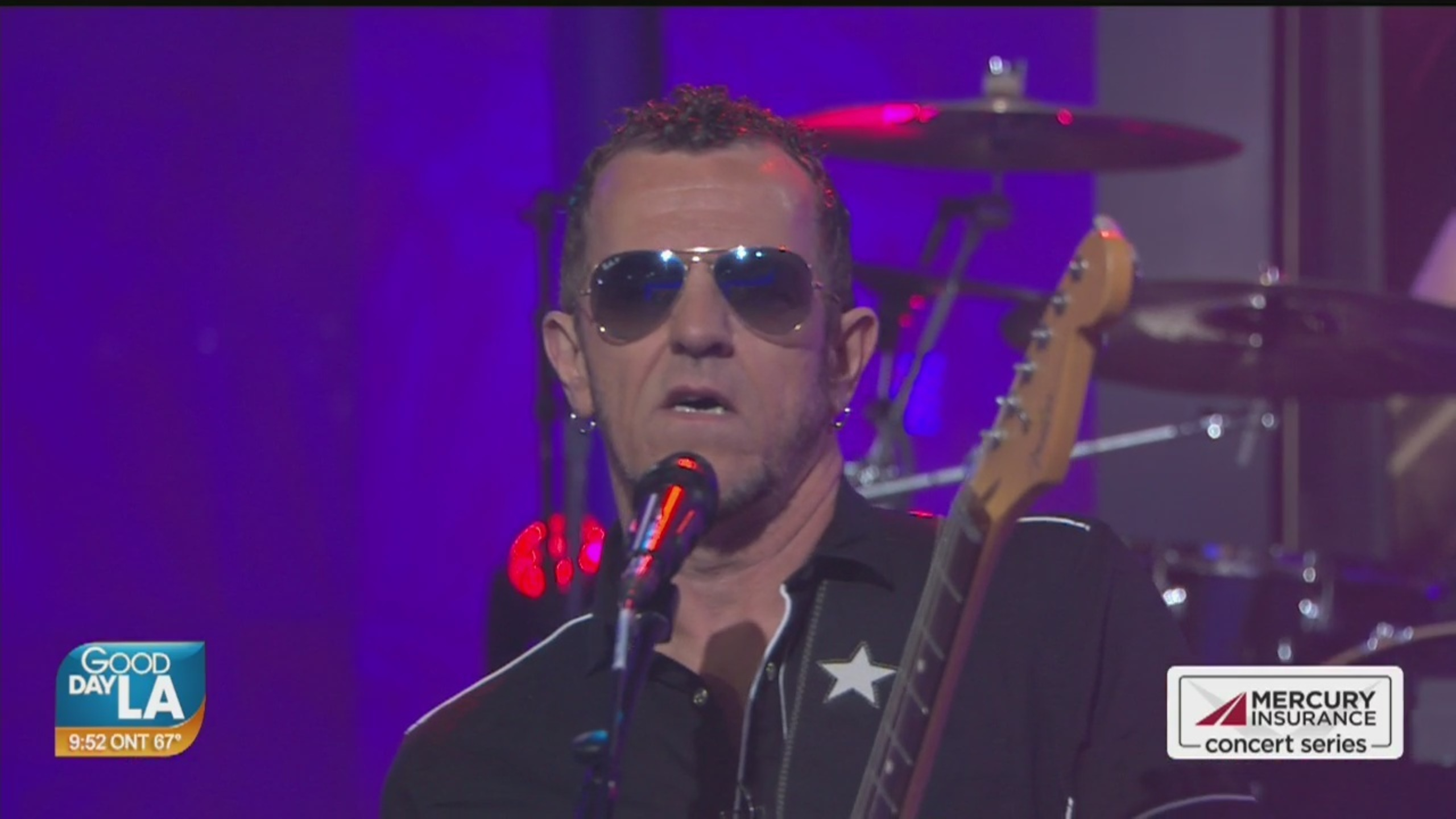 Gary Hoey performs live on Good Day LA + backstage interview