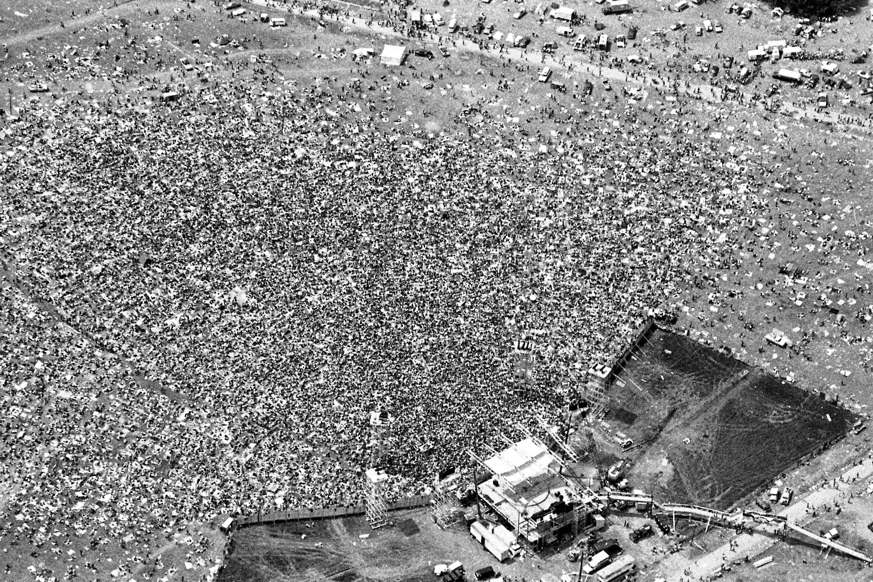 Chaos avoided this time as Woodstock concert site preps for 50th