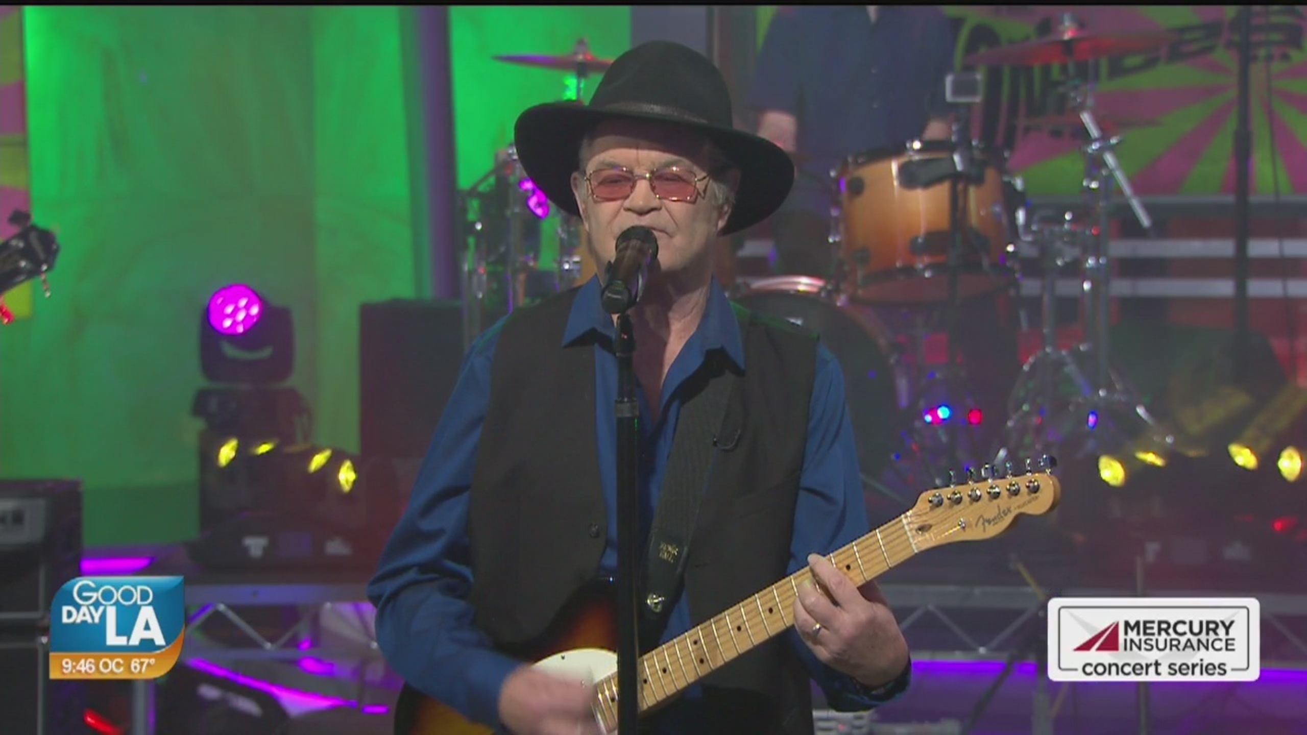Micky Dolenz performs live on Good Day LA + backstage interview