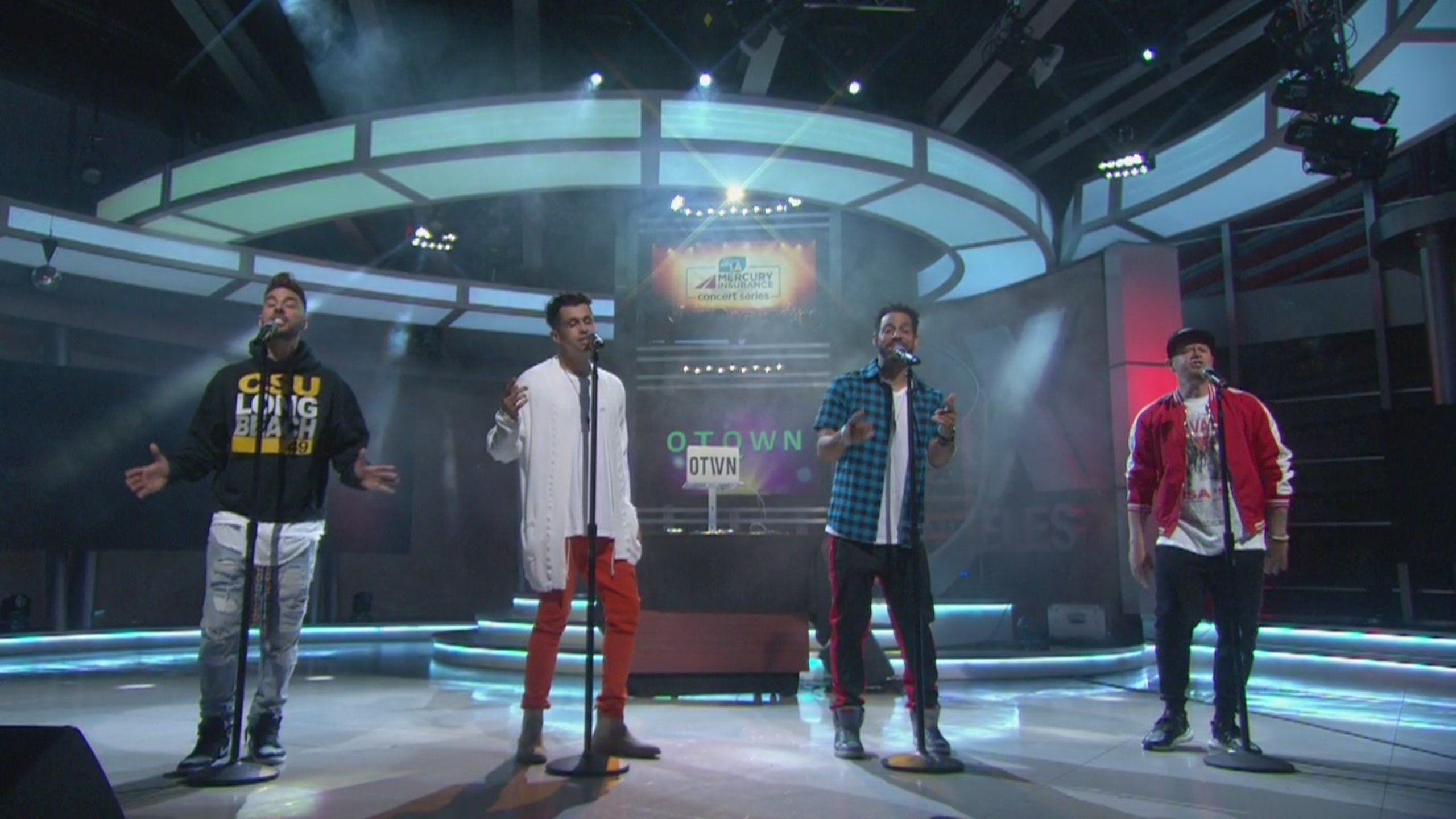 Watch O-Town perform on Good Day LA + backstage interview
