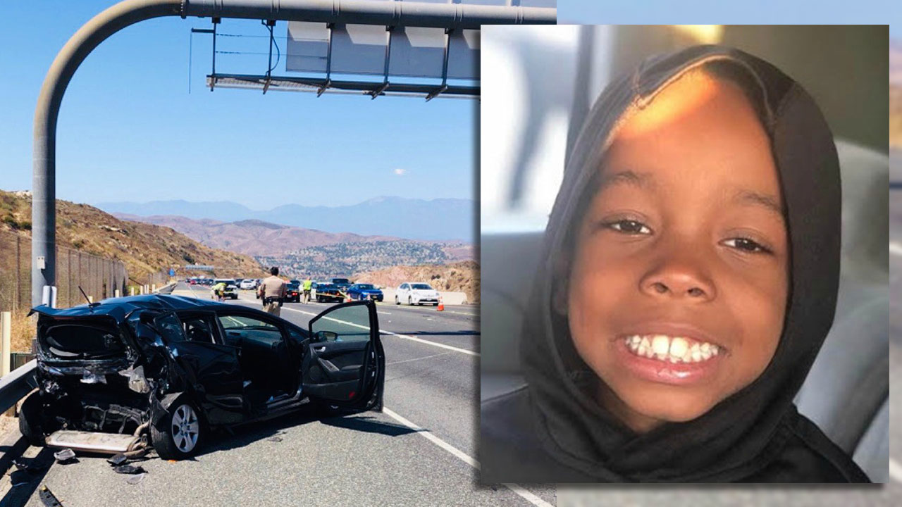 7-year-old twin killed after van strikes stalled car on 241 Toll Road in Orange County