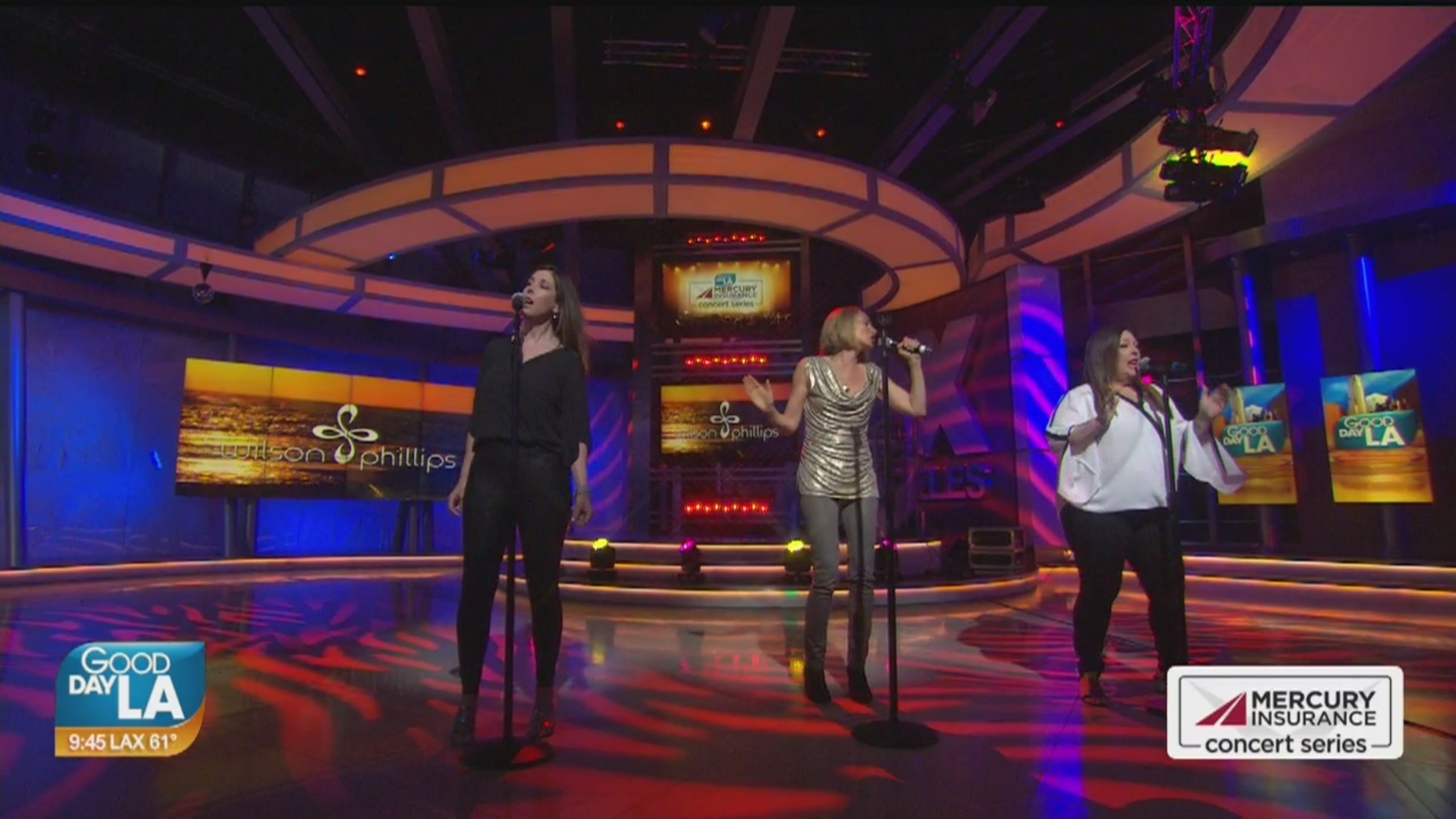 Wilson Phillips performs live on Good Day LA + backstage interview