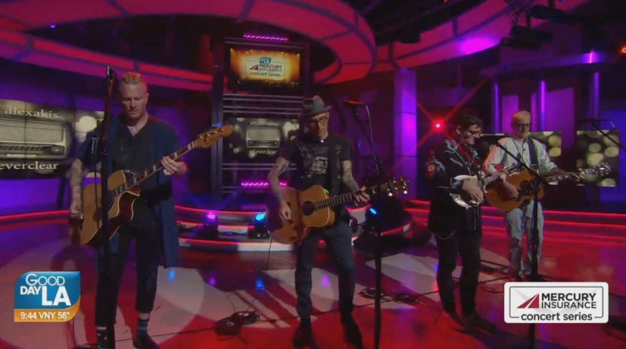 Four '90s rock band singers come together for Songs & Stories on GDLA + backstage interview