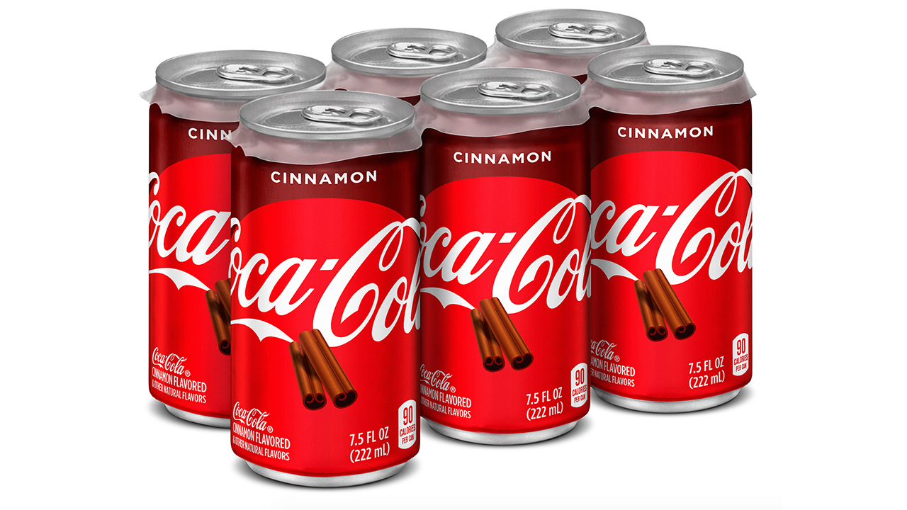 Coca-Cola kicks off the holiday season with new cinnamon flavor hitting US shelves in September