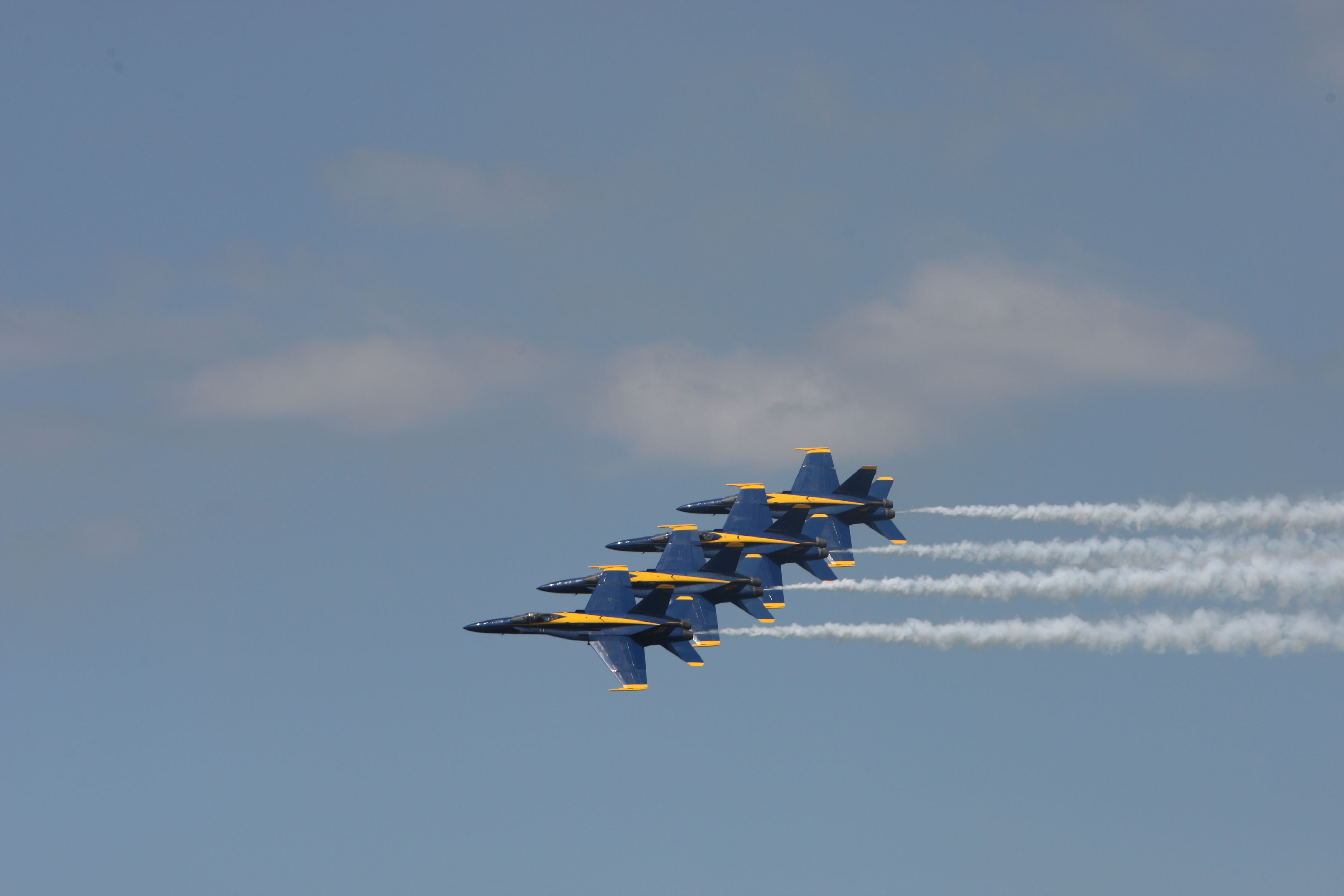 U.S. Navy's Blue Angels to fly over Los Angeles