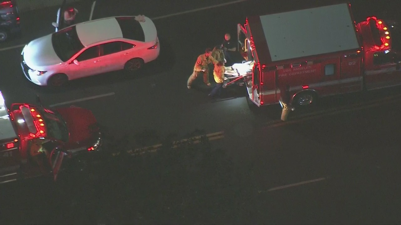 LAPD investigating stabbing and reported shooting a block apart in Hollywood